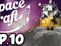 SpaceCraft: Minecraft Modded Survival Episode 10 – Moon Landing!