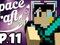 SpaceCraft: Minecraft Modded Survival Episode 11 – Moon Base!