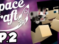 SpaceCraft: Minecraft Modded Survival Episode 2 – The Waffle Shack!